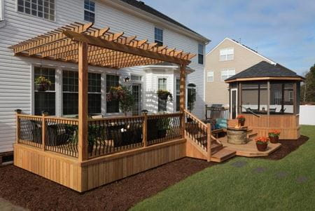 Color Treated Wood Technology Provides A Better Deck