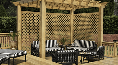 Benefits And Uses Of Pressure Treated Wood Lattice
