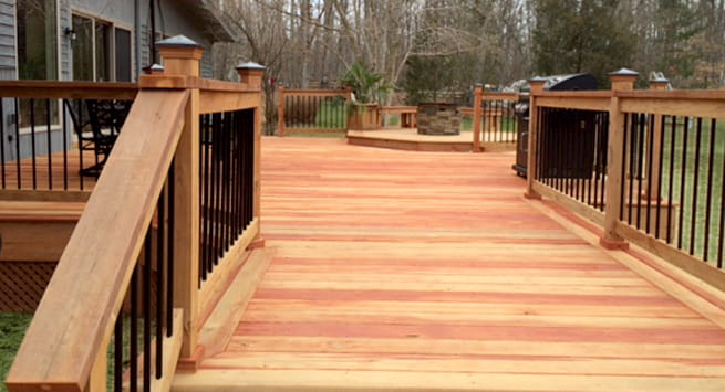 ProWood Dura Color® has the look of real cedar!