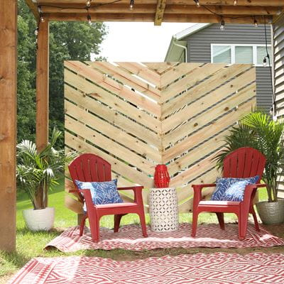 ProWood chevron privacy panel