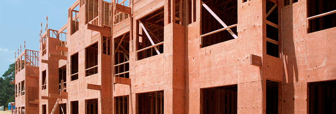 Multi-family Construction with ProWood FR (Fire Retardant) Pressure-Treated Wood