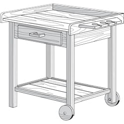 barbeque cart project plan
