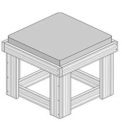 Outdoor Stool Project Plan