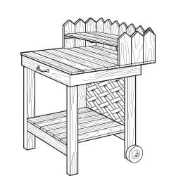 potting cart project plan