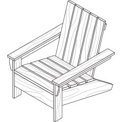 adirondack chair project plan