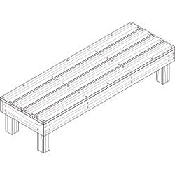 deck and patio bench project plan